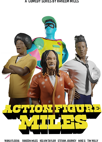 Action Figure Miles - Official Poster.pn