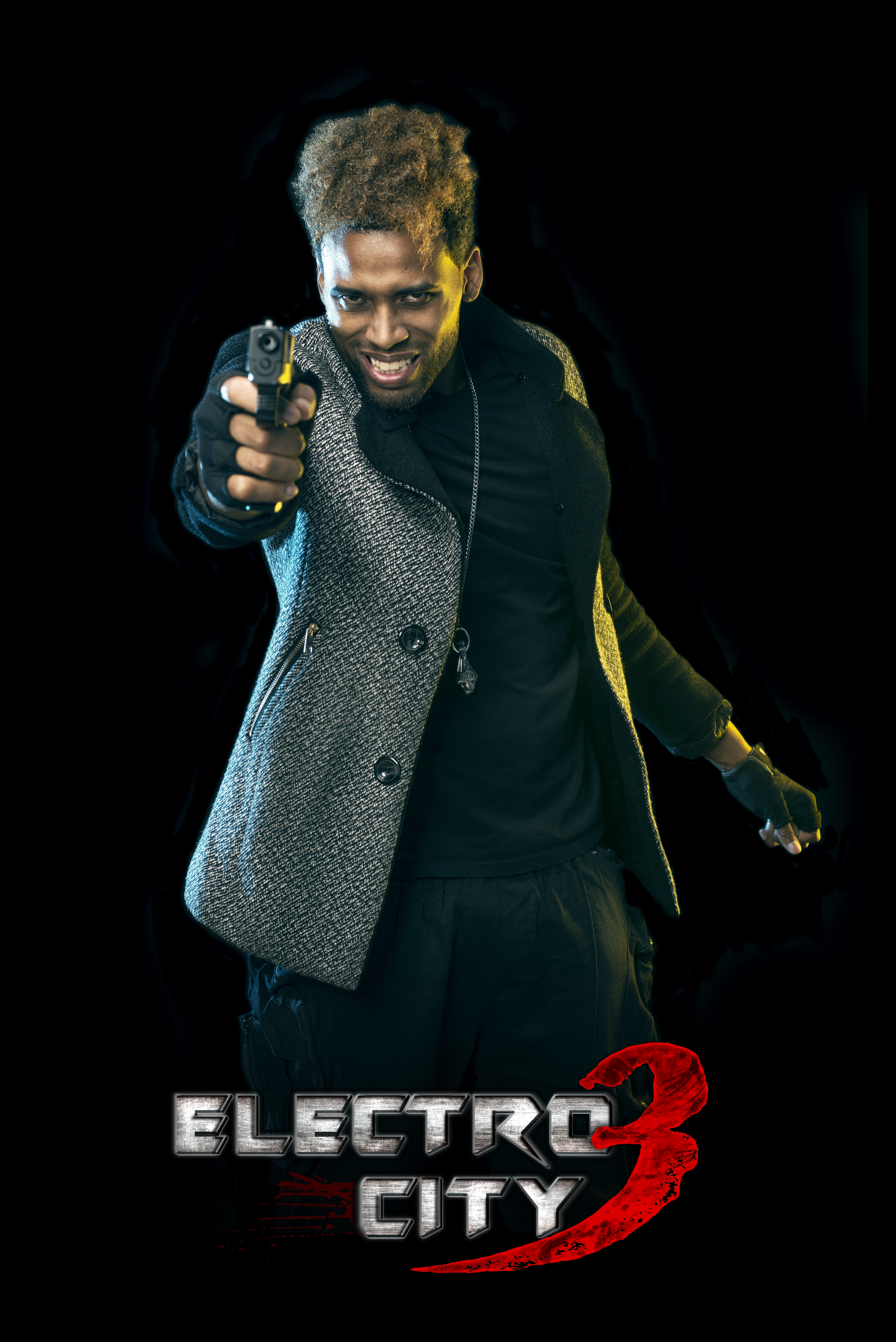 Electro City 3 - Kelvin Taylor as Dynamite