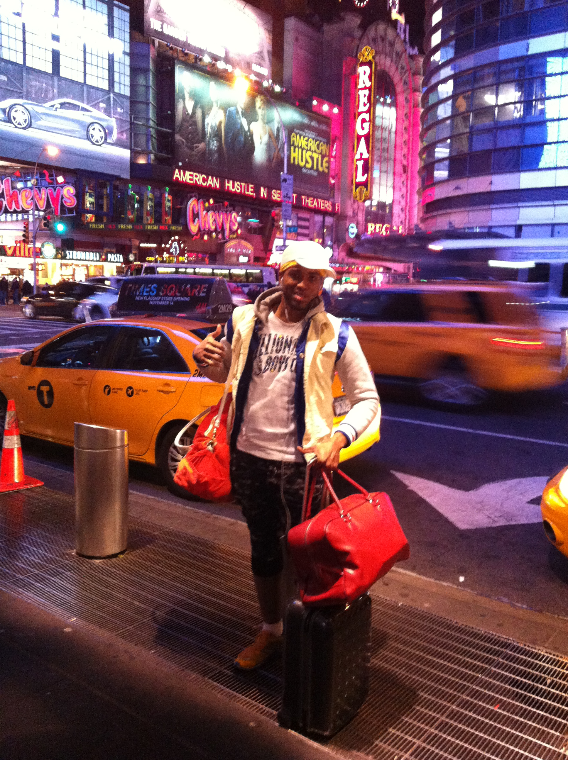 Kelvin Taylor's NYC Arrival