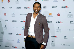 Kelvin Taylor at the 2013 Int Emmys