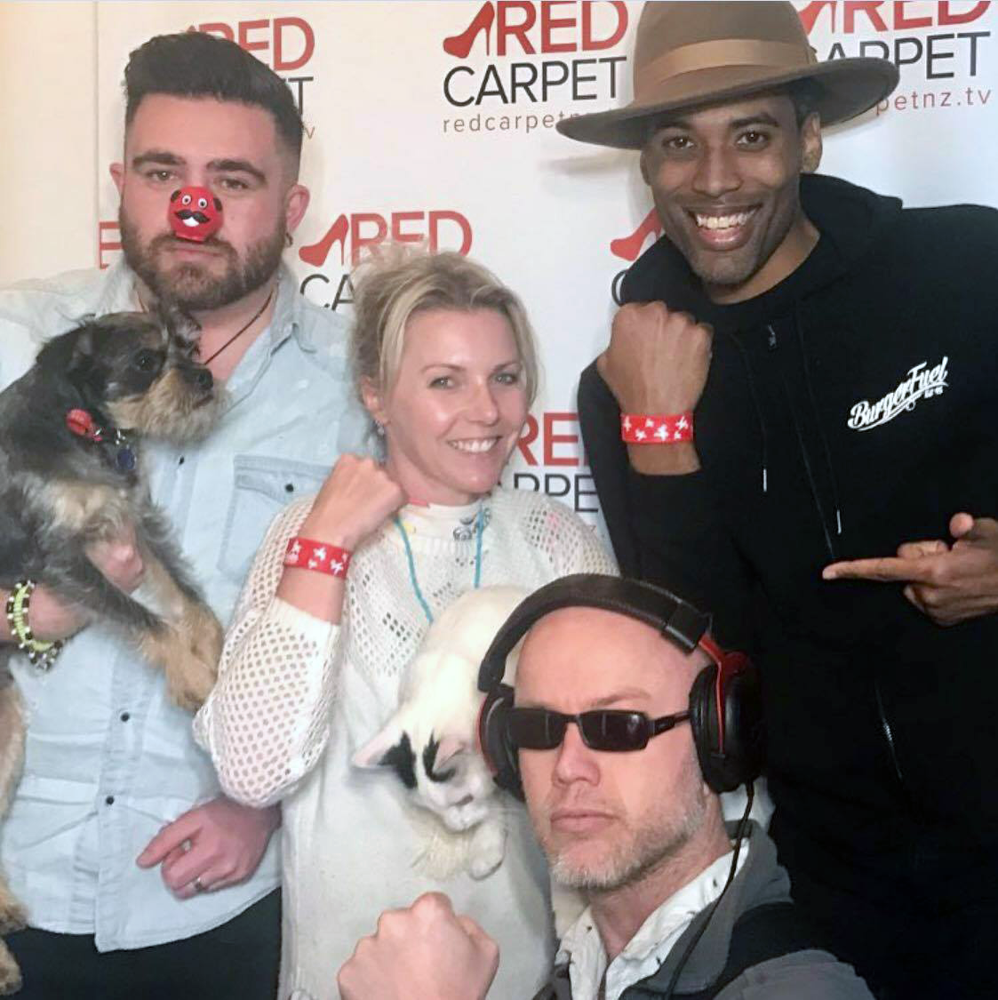 Kelvin Taylor actor for Red Nose Day alo