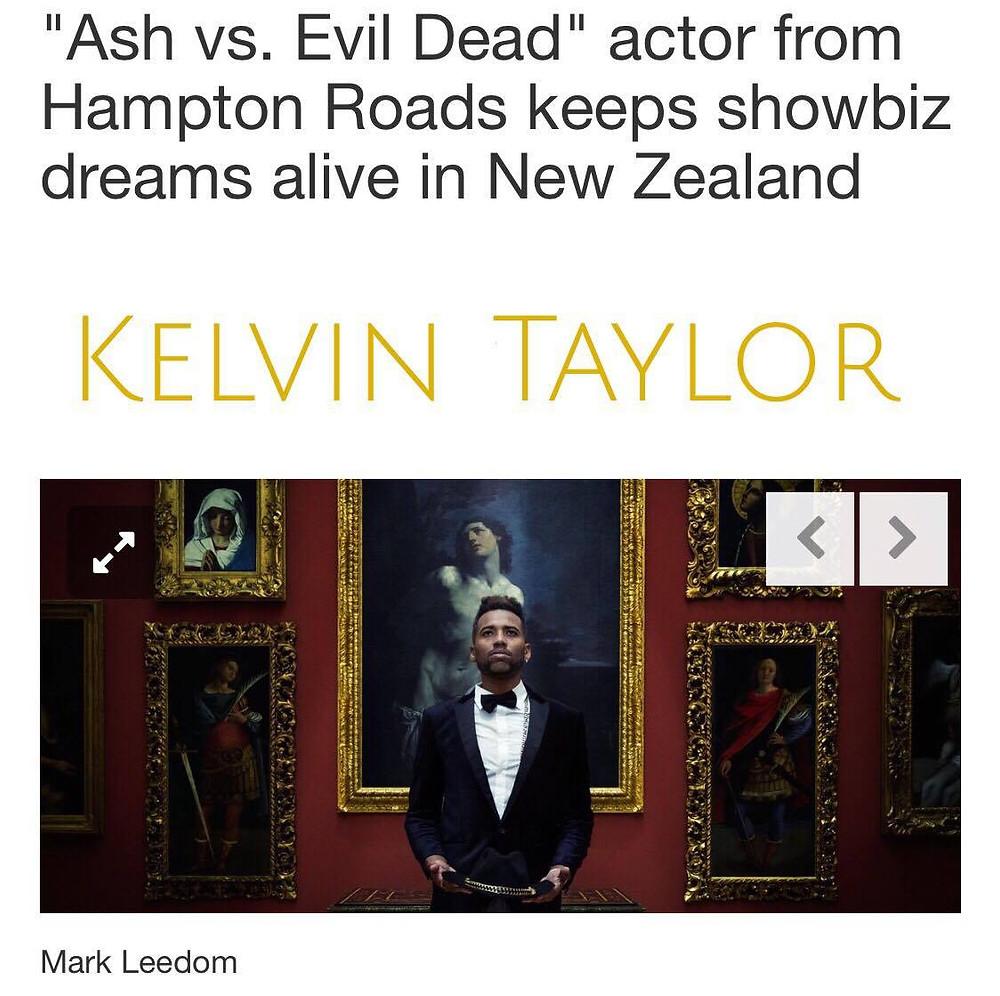 Kelvin Taylor in The Virginia Pilot for Ash VS Evil Dead, Season 2