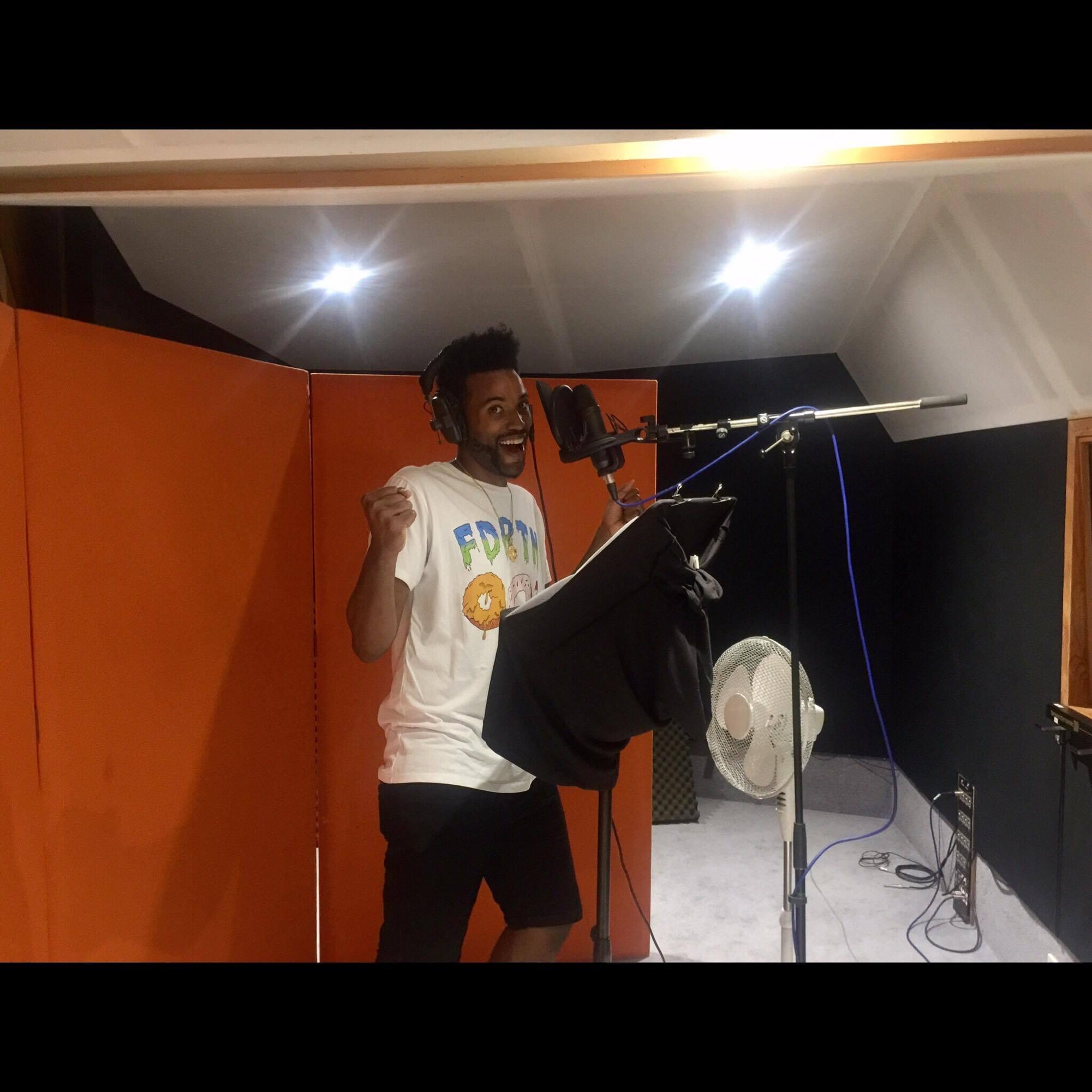 Kelvin Taylor working on Demo