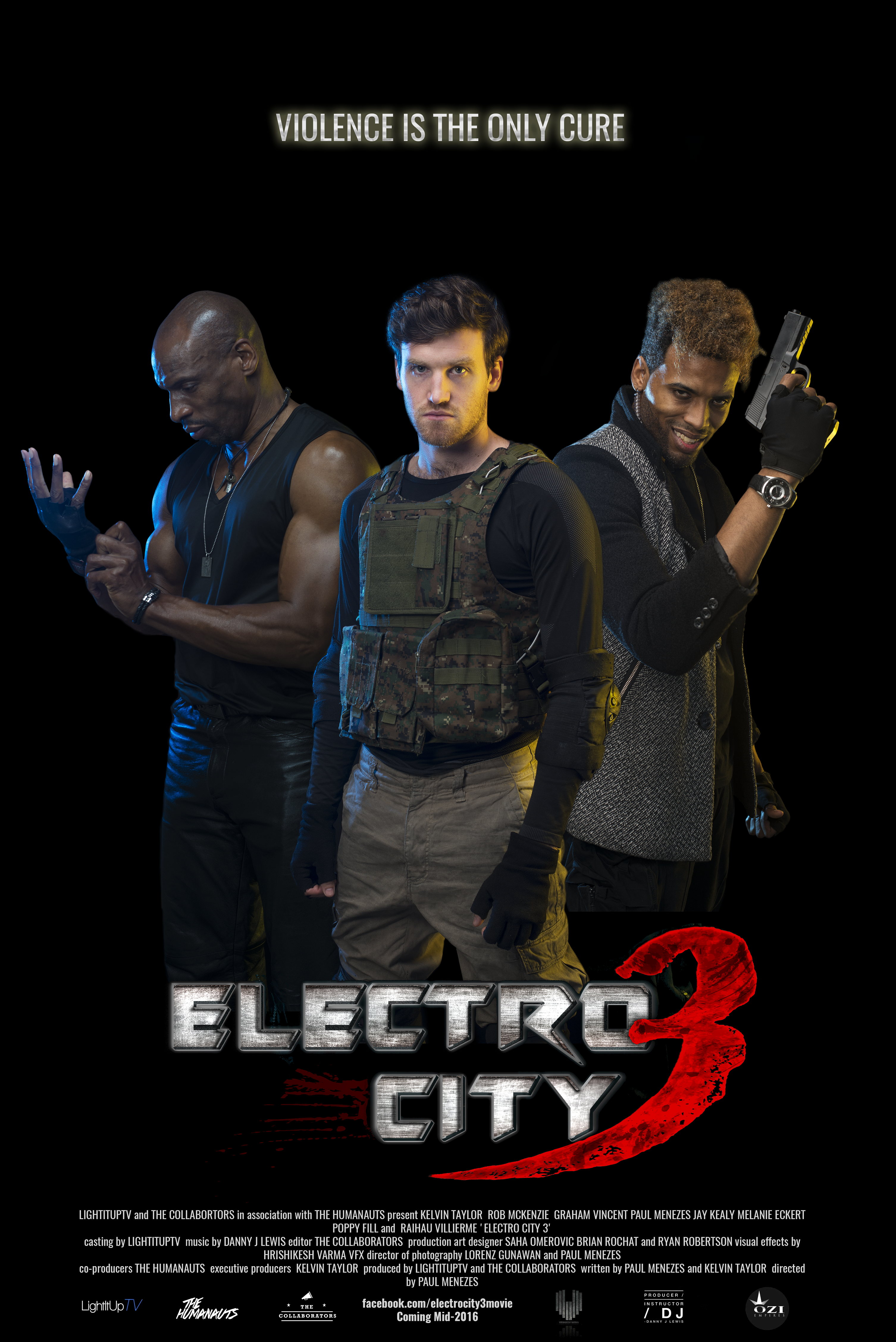 Electro City 3 - Movie Poster