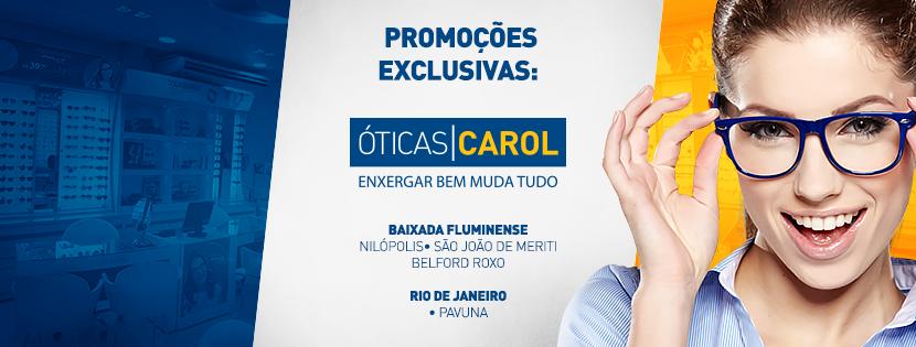 ÓTICAS CAROL BAIXADA