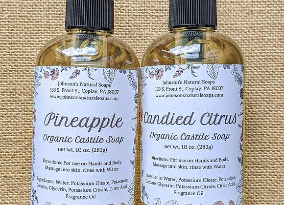 Liquid Castile Soap 10 oz.