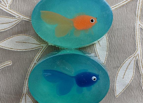 Summer Goldfish Soap 3 oz.