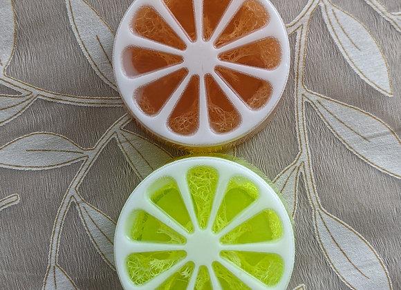 Summer Citrus Loofah Soap 4 oz.