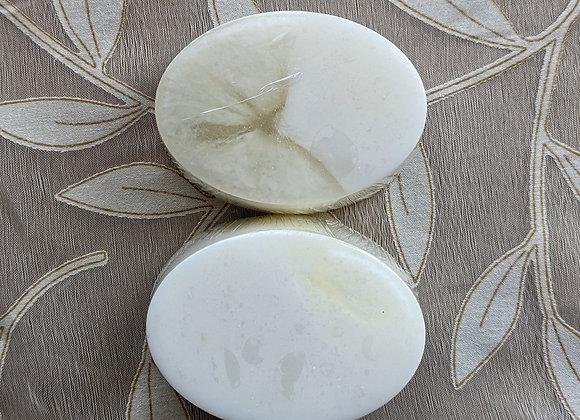 Almond & Coconut Milk Goat Milk/Glycerin Swirled Soap 3 oz. Soap