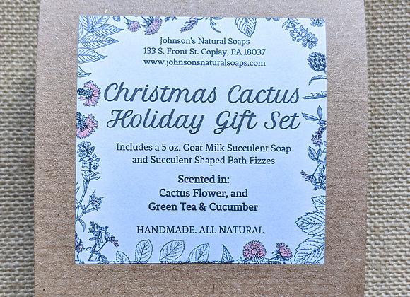 Christmas Cactus Gift Box