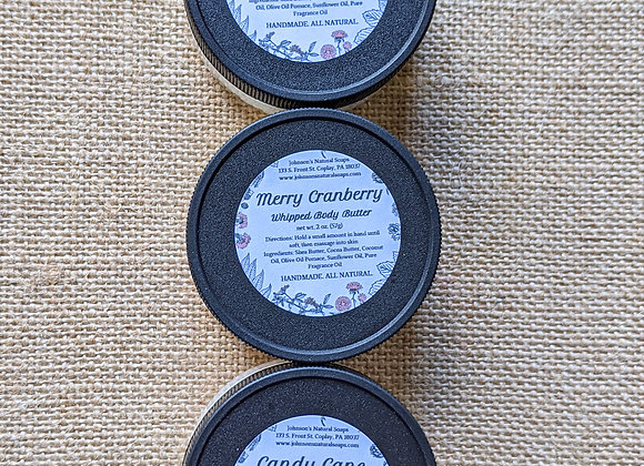 Winter Whipped Body Butter 2 oz.