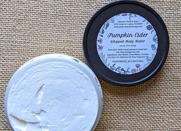 Fall Whipped Body Butter 4 oz.