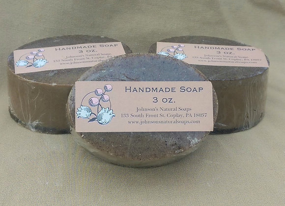 Coffee Exfoliating Soap 3 oz.