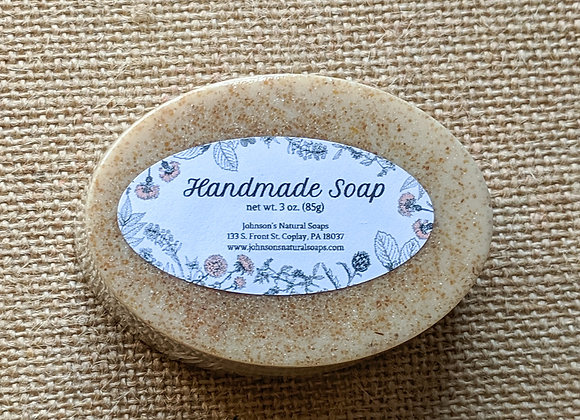 Unscented Oatmeal Soap 3 oz.