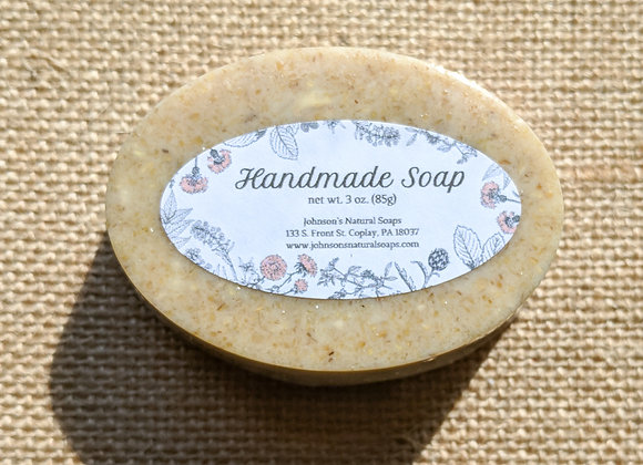Vanilla Oatmeal Soap 3 oz.