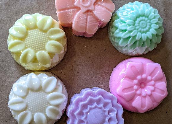 Flower Shaped Soaps