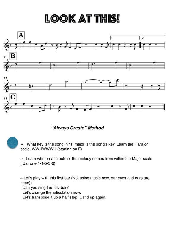 A SONG:ALWAYS CREATE METHOD.jpg