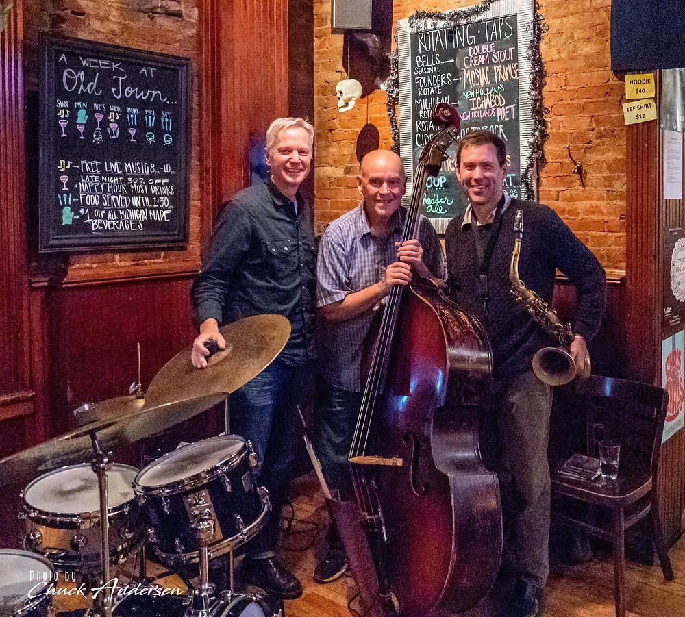 October show with the trio at Old Town, Ann Arbor, Michigan! Thank you Pete Siers and Kurt Krahnke