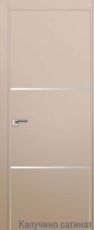 Дверь м/к 2 E Капучино сатинат