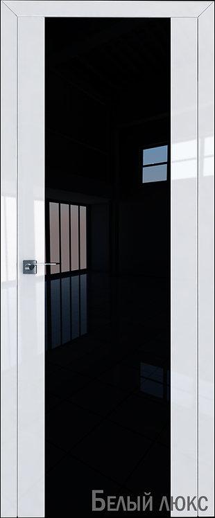 Дверь м/к 8 L Белый глянец