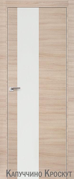 Дверь м/к 5 Z Капучино Кроскут