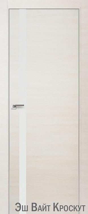 Дверь м/к 6 Z Ясень белый кроскут