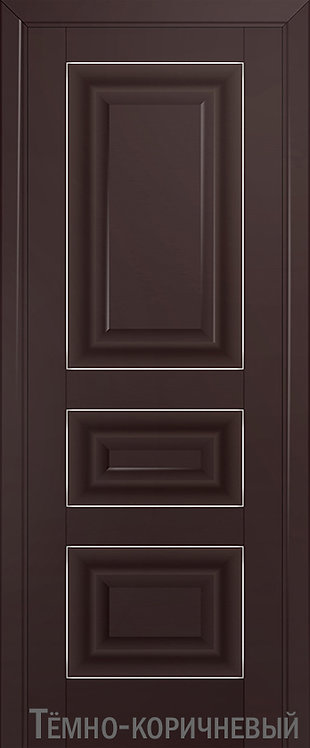Дверь м/к 25 U Темно-коричневый