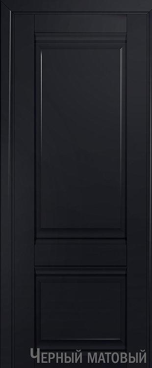 Дверь м/к 1 U Черный матовый