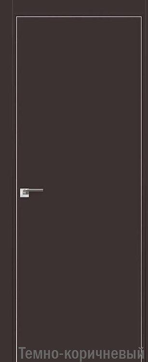 Дверь м/к 1 E Темно-коричневый