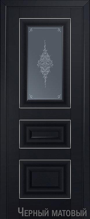 Дверь м/к 26 U Черный матовый
