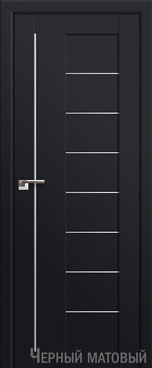 Дверь м/к 17 U Черный матовый