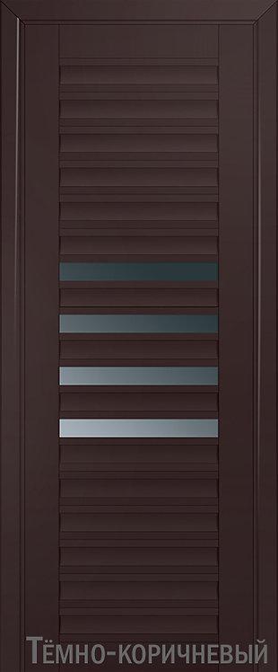 Дверь м/к 55 U Темно-коричневый
