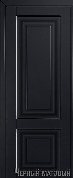 Дверь м/к 27 U Черный матовый