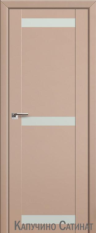 Дверь м/к 75 U Капучино сатинат