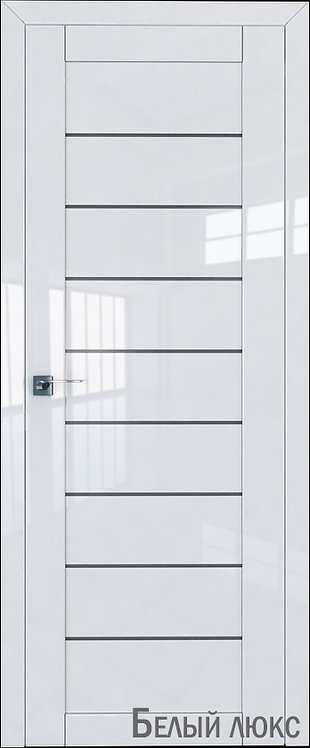 Дверь м/к 73 L Белый глянец