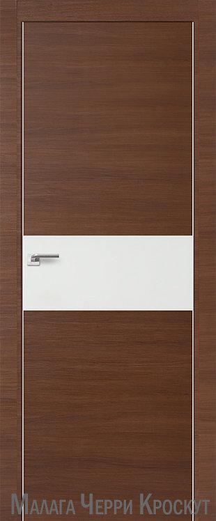 Дверь м/к 4 Z Малага Черри Кроскут