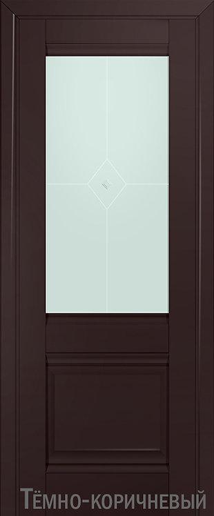Дверь м/к 2 U Темно-коричневый