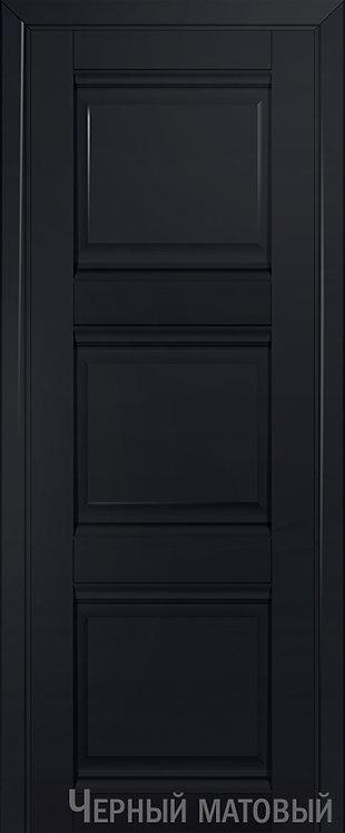 Дверь м/к 3 U Черный матовый