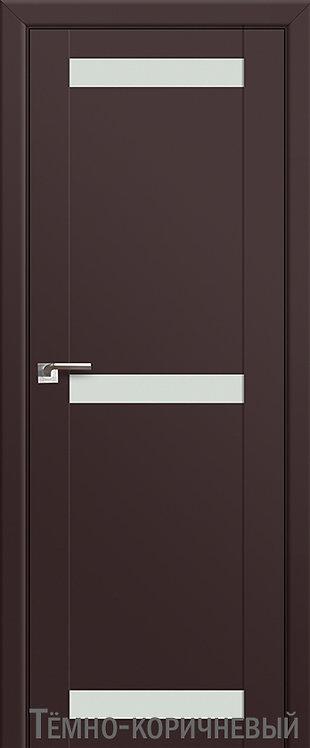 Дверь м/к 75 U Темно-коричневый