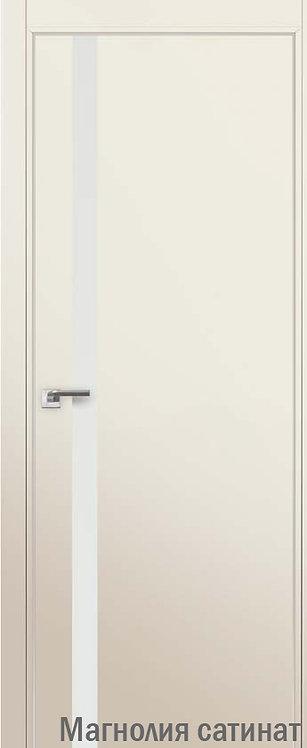Дверь м/к 6 E Магнолия сатинат