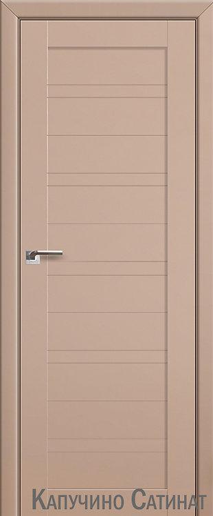 Дверь м/к 7 U Капучино сатинат