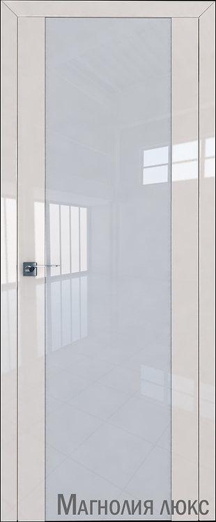 Дверь м/к 8 L Магнолия люкс