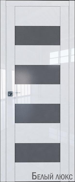 Дверь м/к 46 L Белый глянец