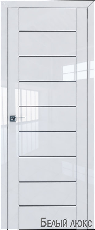 Дверь м/к 45 L Белый глянец