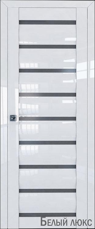 Дверь м/к 78 L Белый глянец