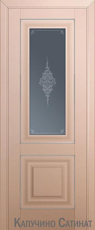 Дверь м/к 28 U Капучино сатинат