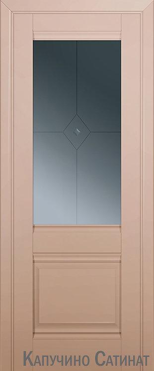Дверь м/к 2 U Капучино сатинат