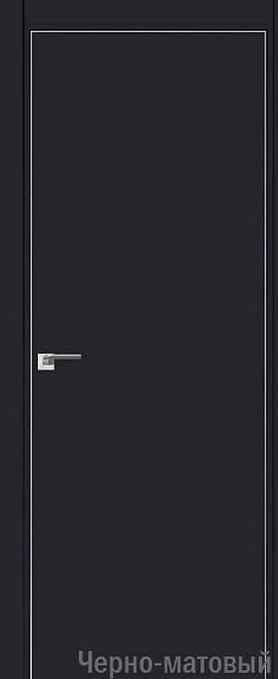 Дверь м/к 1 E Черный матовый