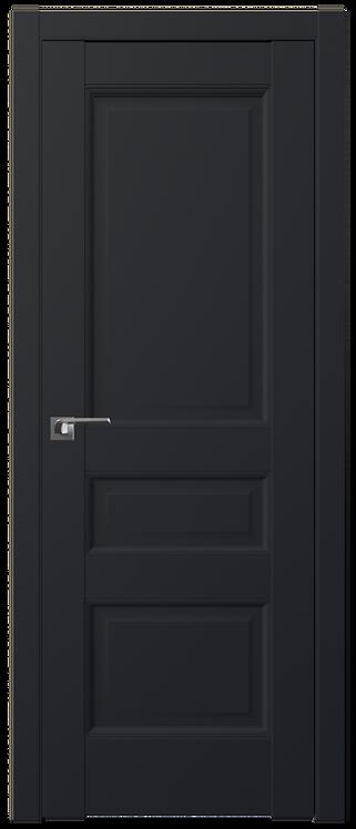 Дверь м/к 95 U Черный матовый