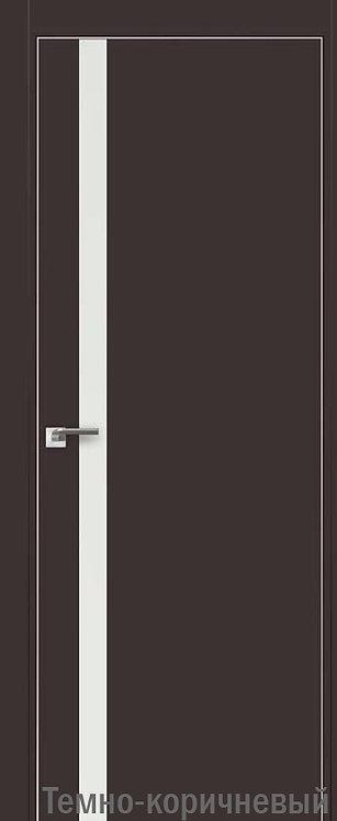 Дверь м/к 6 E Темно-коричневый